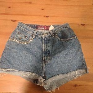 Vintage Old Navy Blue Jeans Denim Cutoffs